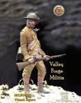 Model Cellar - Valley Forge Militia #1, 1777