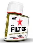 MIG Productions - Enamel Green Filter for Khaki & Olive Green