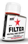 MIG Productions - Enamel Neutral Grey Filter for White