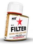 MIG Productions - Enamel Ochre Filter for Light Sand