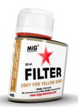 MIG Productions - Enamel Grey Filter for Yellow Sand