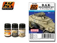 AK Interactive - Africa Korps Weathering Set