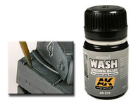 AK Interactive - Brown Blue Wash for Panzer Grey Vehicles