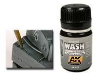 AK Interactive - Brown Blue Wash for Panzer Grey Vehicles