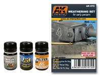 AK Interactive - Early Panzers Weathering Set