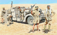 Masterbox Models - Long Range Desert Group (LRDG) WWII