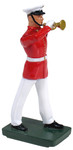 Wm. Britain - United States Marine Corps Bugler, Commandant's Own, Red Tunic