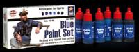Andrea Miniatures - Blue Paint Set