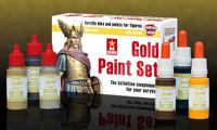 Andrea Miniatures - Gold Paint Set