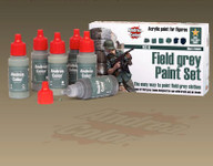 Andrea Miniatures - Field Gray Paint Set