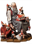 Andrea Miniatures: A Wonderful World - Santa's Rest