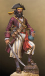 Andrea Miniatures Pirates of the Caribbean: Blackbeard 1680-1718