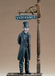Andrea Miniatures: The Golden West - Undertaker, 1880's