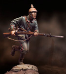 Andrea Miniatures: The Great War (1916-1918) - Charging German Infantryman, 1915