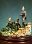 Andrea Miniatures: The Great War (1916-1918) - German Machine Gun Team