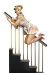 Andrea Miniatures: Pinup Series - Mind the Bannister