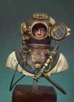 Andrea Miniatures: The Bust Collection - U.S. Navy Diver, 1941