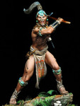 Pegaso Models - Maya Warrior, 16th Century