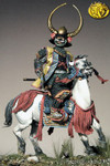 Pegaso Models - Daimyo, Mounted Japanese War Lord, Azuchi-Momoyama period (1568-1600)