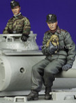 Alpine Miniatures - German Panzer Crew Set
