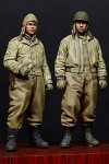 Alpine Miniatures - WW2 US AFV Crew Set