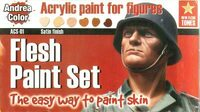 Andrea Miniatures - Flesh Paint Set