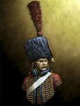 Pegaso Models: Busts - French Hussar