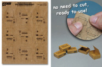 J's Work Models - 1/35 Combat Ration Medium Boxes