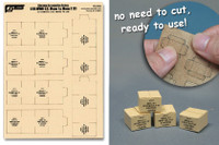 J's Work Models - 1/35 WWII US Military MRE Large Boxes