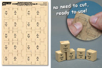 J's Work Models - 1/35 WWII German Supplies Cartons