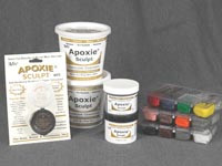 Aves - 1/4 lb. Apoxie Sculpt (White)