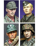 Alpine Miniatures - WWII German Soldier Heads