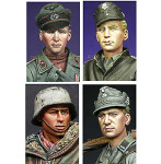Alpine Miniatures - WWII German Soldier Heads 2