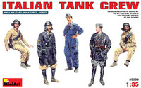 Miniart Models Italian Tank Crew