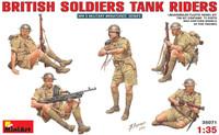 Miniart Models British Tank Riders