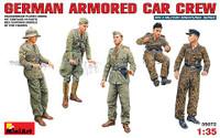 Miniart Models German Armored Car Crew
