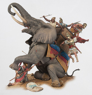 Lord Of The Rings Elephant Battle Toy