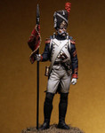 Pegaso Models - Grenadiers of the guard, Sergeant Second Eagle Bearer, 1810