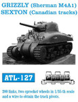 Friulmodel Canadian Grizzly (Sherman M4A1) Sexton Tank Track Link Set