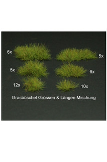 Green Mixed Tufts
