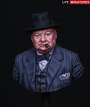 "Life Miniatures - ""Never Surrender"", British Prime Minister Winston Churchill"