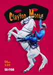 Andrea Miniatures - Clayton Moore as the Lone Ranger