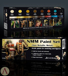 Scale 75 Non-Metallic Paint Set for Painting Gold, Copper, Bronze
