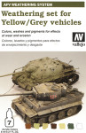 Vallejo - Model Air Weathering Set for Yellow/Grey Vehicles