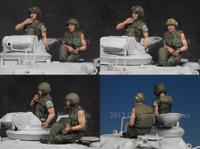 Alpine Miniatures - US Tanker Vietnam War Set
