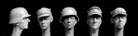 Hornet Model The Last Ditch. 5 heads Volkssturm 1945