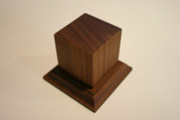 Wood Figure Pedestal Base 70mm - 80mm