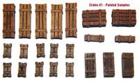 Value Gear Details Wooden Crates Set 1