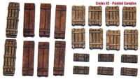 Value Gear Details Wooden Crates Set 2