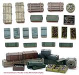 Value Gear Details Wooden Crates Set 6